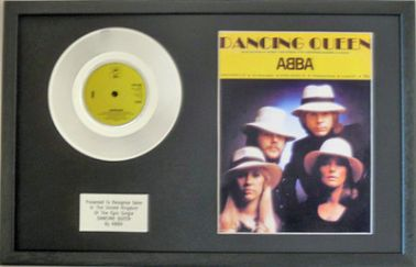 "ABBA - 7"" Platinum Disc & Songsheet - DANCING QUEEN"